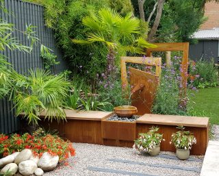 an artist garden